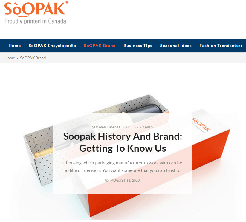 Soopak website