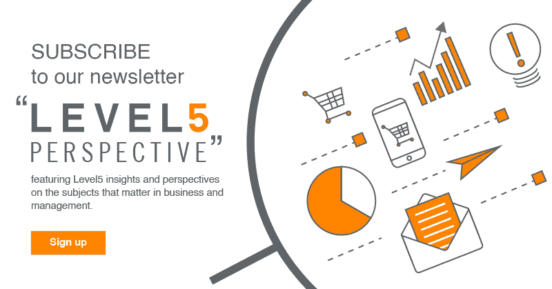 Subscribe to our newsletter - Level5 Perspective